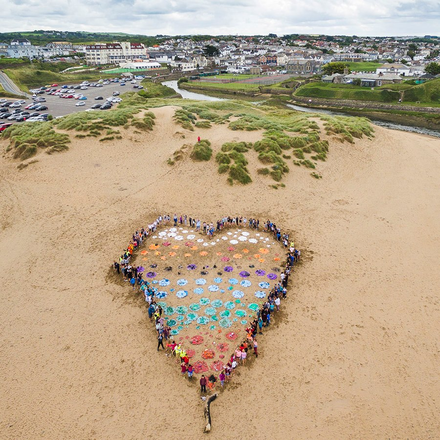 Love Your Beach Day, Cornwall Wildlife Trust, beach clean, event
