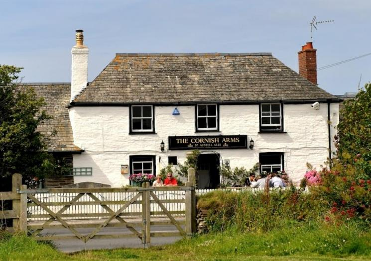 Gastro Pubs, Visit Cornwall, Cornish Arms, pub, food, restaurant, places to eat