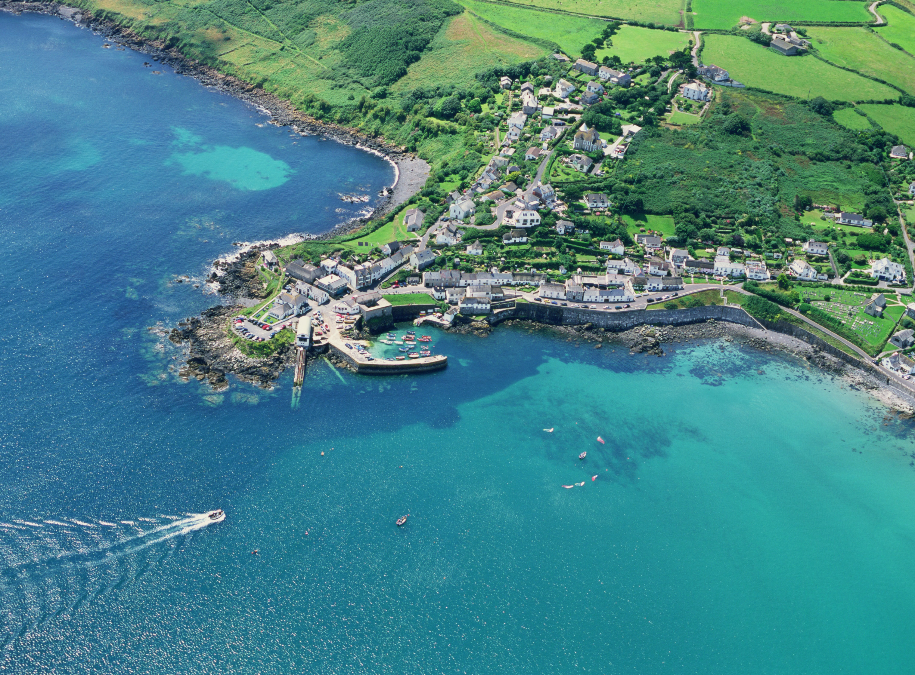 coverack Cornwall most beautiful town in cornwall