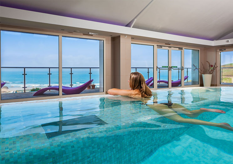 Bedruthan spa for Luxury hotel breaks