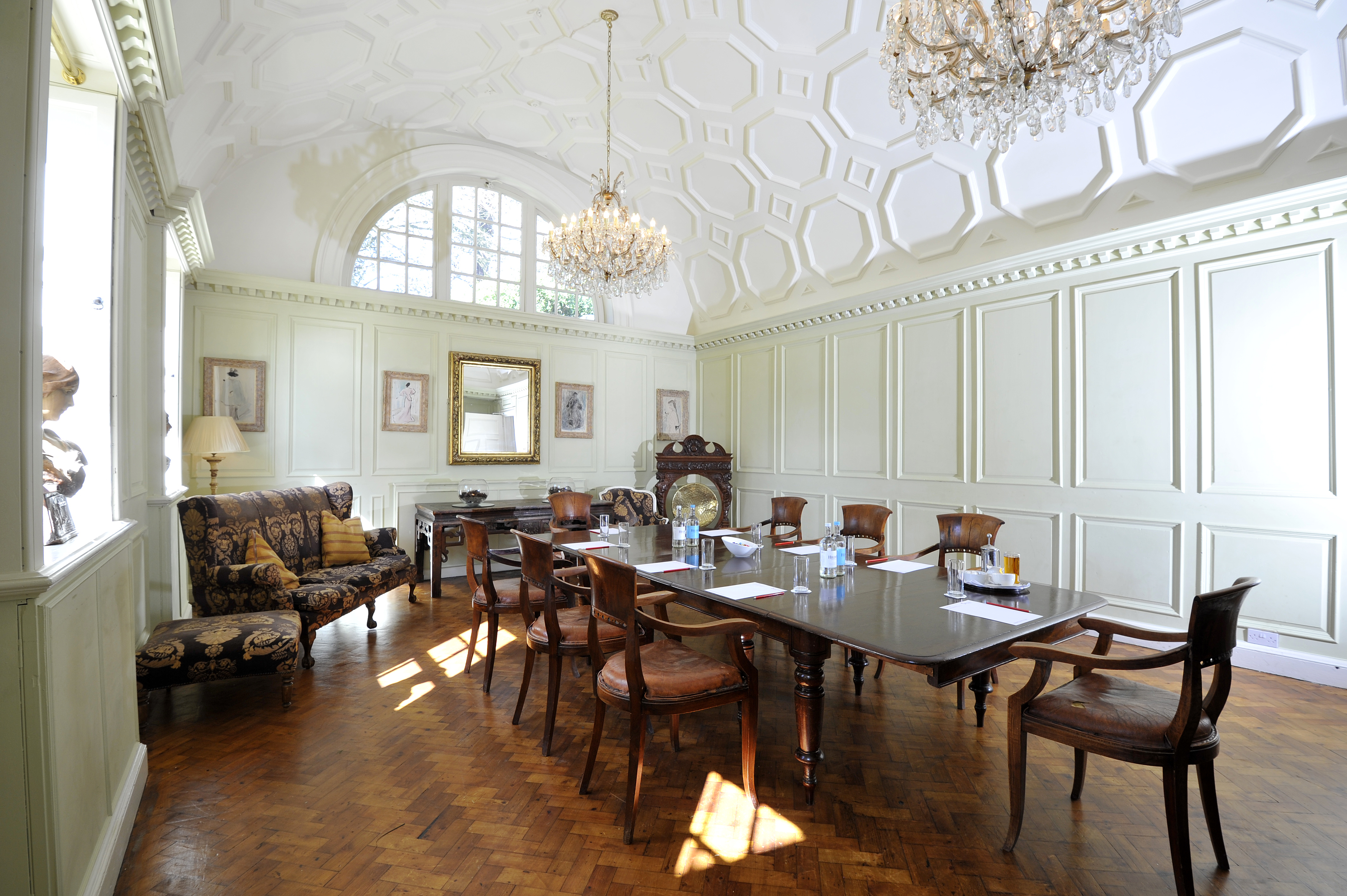 Foyer Hotel Cornwall : Fowey hall hotel conferences functions
