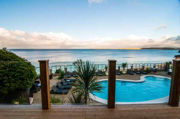 Carbis bay hotel for Hotels with swimming pools in cornwall