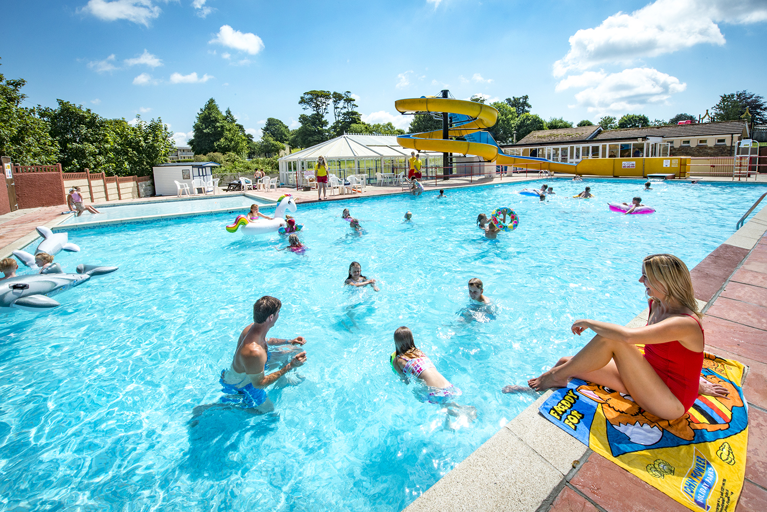 Trelawne manor holiday park - The quays swimming pool timetable ...