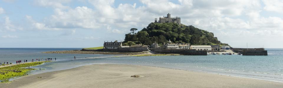 St Michaels Mount, West Cornwall