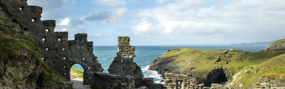 Tintagel Castle, Cornwall