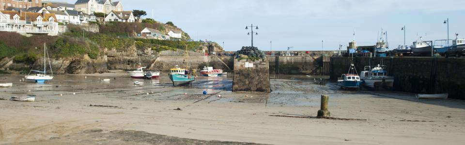 Newquay Harbour, North Cornwall