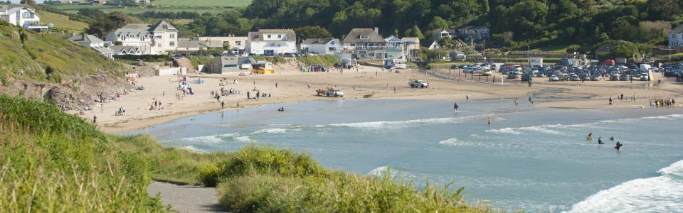 Polzeath, North Cornwall