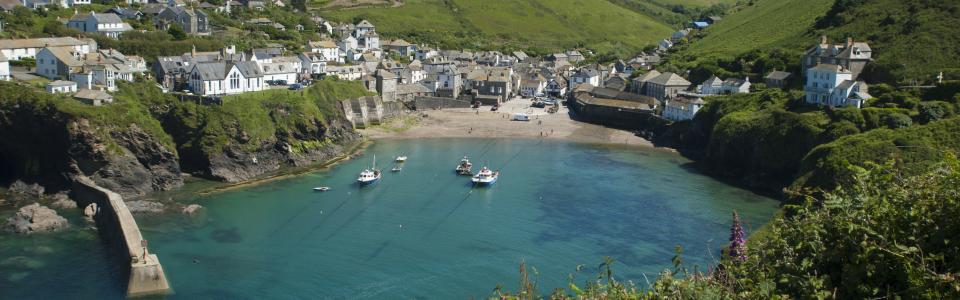 Port Isaac, North Cornwall