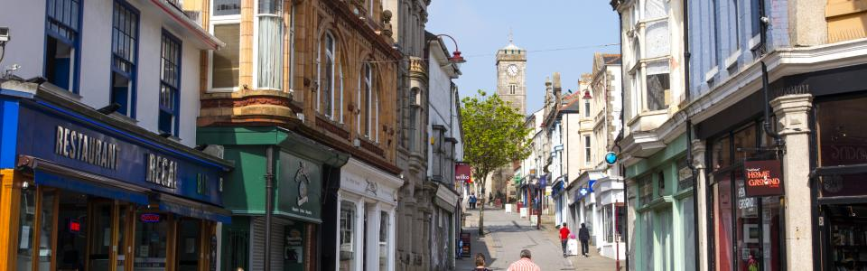 Redruth, West Cornwall
