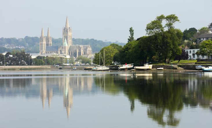 Truro, Cornwall's Cathedral city