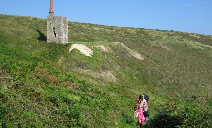 Wheal Prosper walkers by Ainsley Cocks