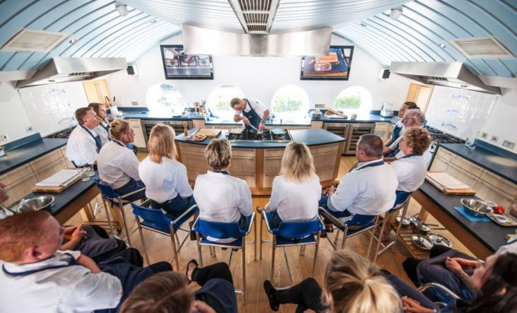 David Griffen   Padstow Seafood School