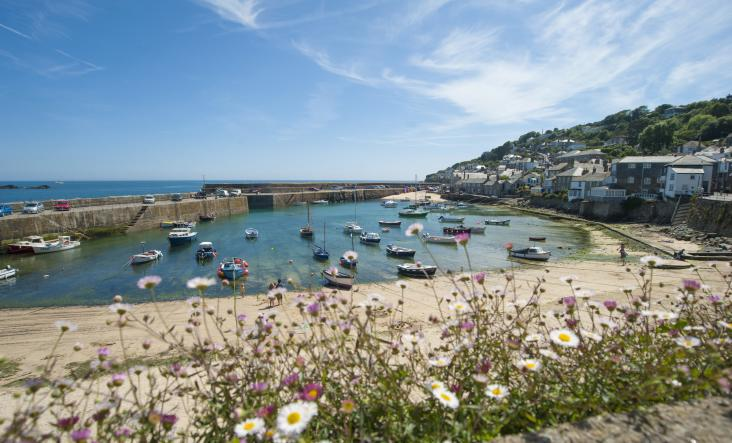 Mousehole Harbour, West Cornwall