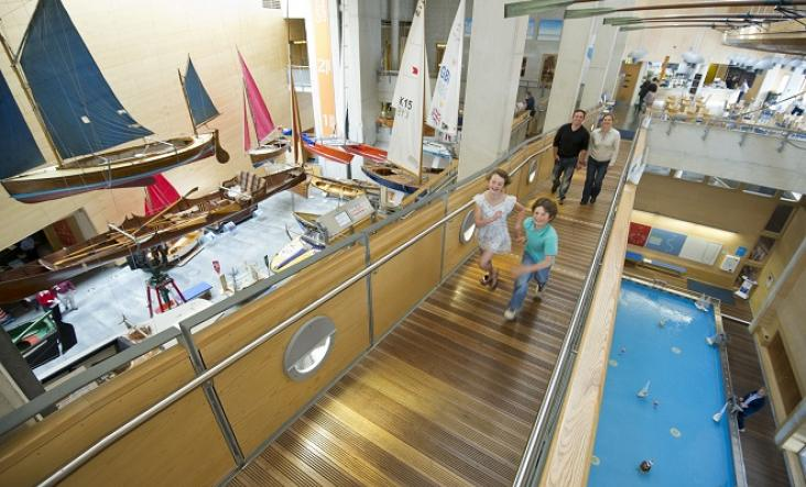 National Maritime Museum, Falmouth, Cornwall