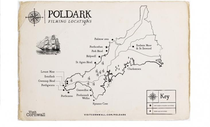 Poldark Locations