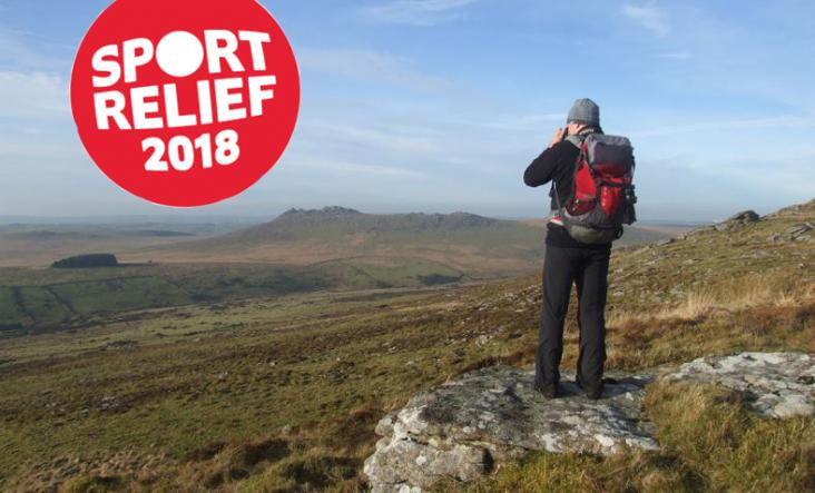 Bodmin Moor, Walking in Cornwall, Sport Relief