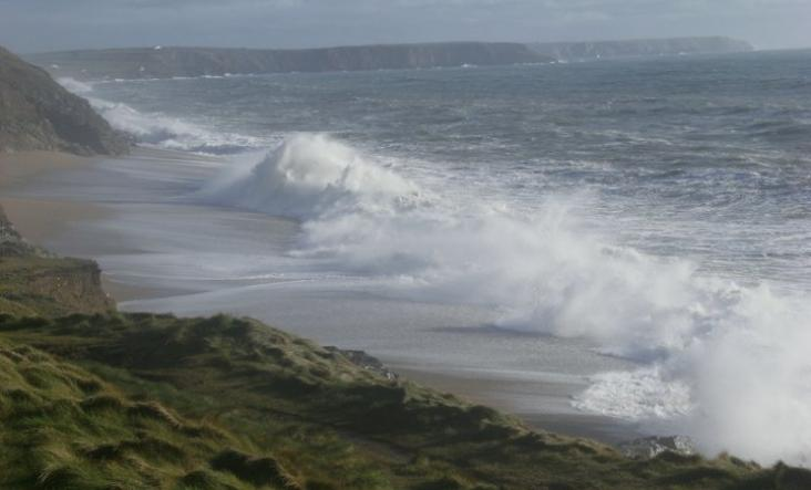 Five storm watching spots in Cornwall, Winter, storm chasing, wild weather
