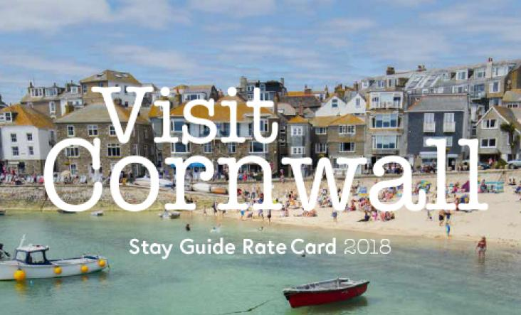 2018 Visit Cornwall Accommodation Guide Rate Card