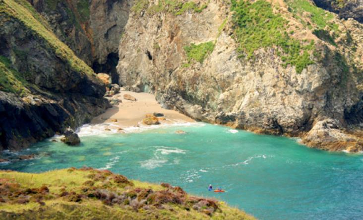 Canoeing and Kayaking in Cornwall c The Wild Guide
