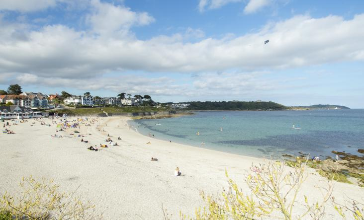 Gylly Beach, Falmouth