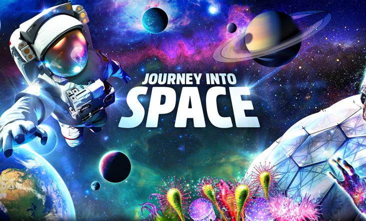 Journey into Space, Eden Project, Cornwall 2017
