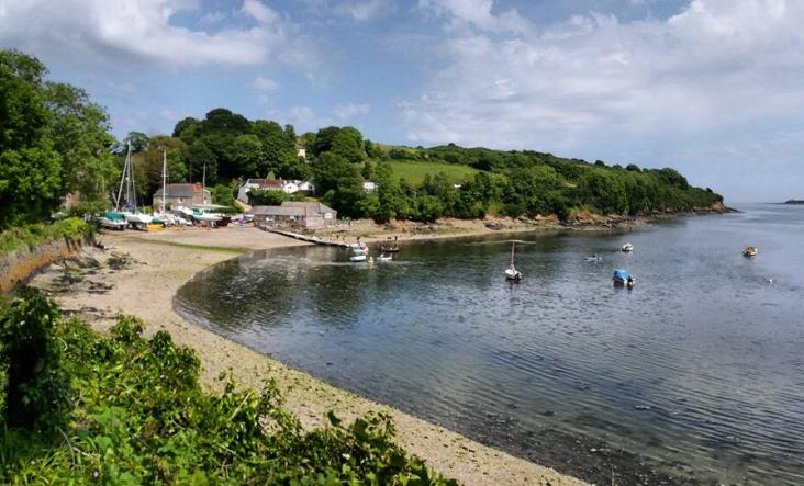 Visit Cornwall, hidden gems, helford river. m.camp
