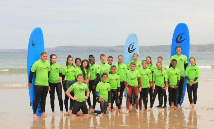 Escape Surf School, Newquay
