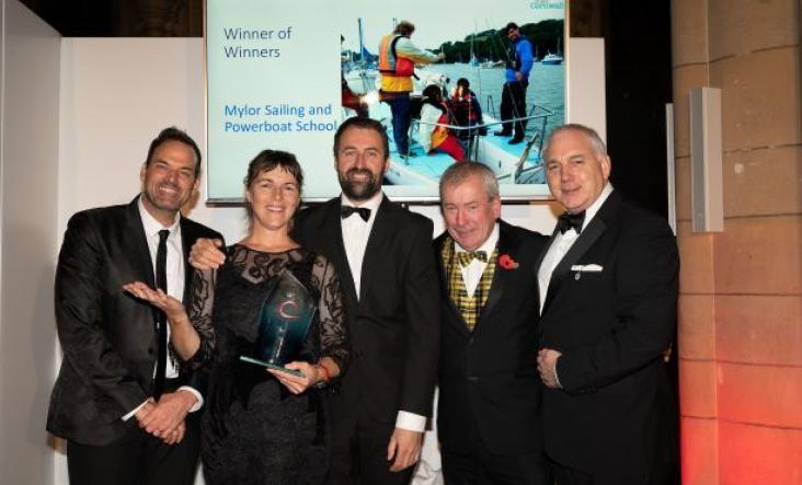Mylor Sailing School, Winners of Winners