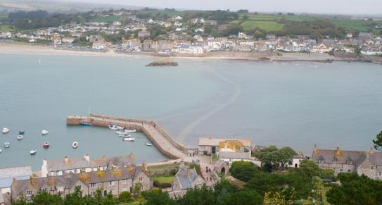 Marazion from St Michael's Mount | Cornwall c Matt Jessop