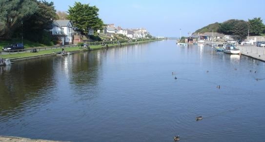 Bude canal, Bude, North Cornwall