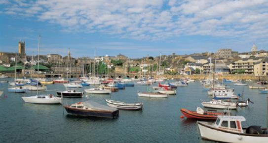 Penzance Harbour, Cornwall c Paul Watts