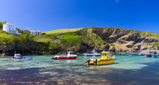 Port Isaac in North Cornwall, c Shutterstock