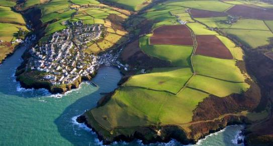 Port Isaac Harbour in North Cornwall c Global Pics