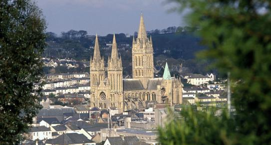 Truro Cathedral | Cornwall c Trevor Burrows