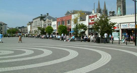 The Piazza, Lemon Quay | Truro | Cornwall c BBC