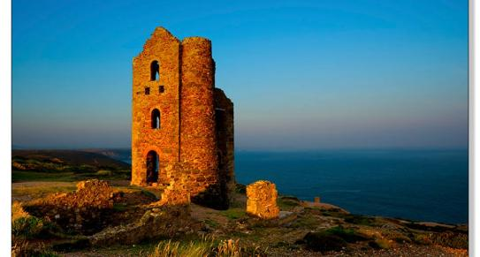 Wheal Coates, St Agnes, North Cornwall by Adrian Chillbrook