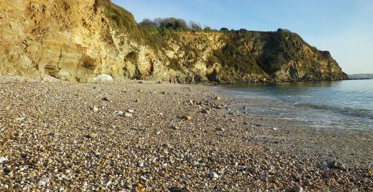 Charlestown East Beach, St Austell, Cornwall