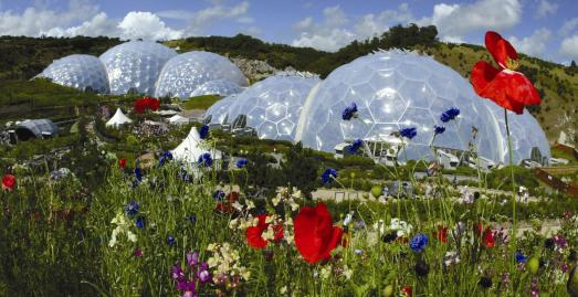 Tourist attractions in Cornwall | Eden Project St Austell