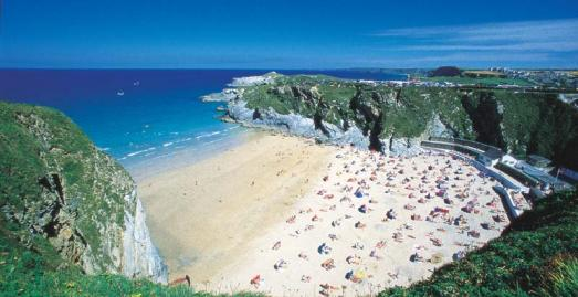 Images of Cornwall Beaches Beaches in Newquay Cornwall
