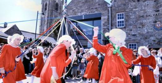 St Ives May Day, Cornwall, image Colin Sanger