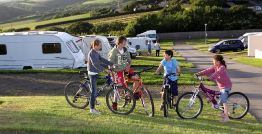 Holiday Park in Bude Cornwall | Pentire Haven Touring Park