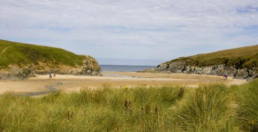 Beaches near Newquay Cornwall | Porth Joke Beach | Polly Joke Beach
