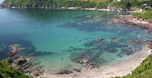 Talland Bay Beach, Polperro,Cornwall