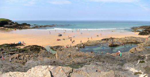 Beaches near Padstow Cornwall | Treyarnon Bay Beach