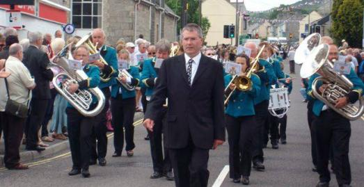 West of England Bandmens Festival, Bugle, Cornwall