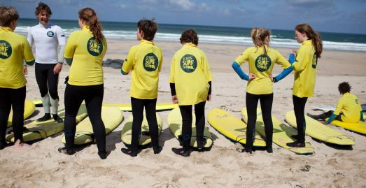 St Ives Surf School | Credit David Gray