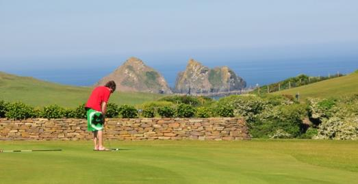 Golf course in Cornwall | Holywell Bay