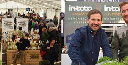 Fifteen Cornwall Winter Food Fayre, Watergate Bay, North Cornwall, What's on