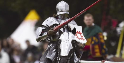 Grand Medieval Joust | Pendennis Castle | Falmouth | Cornwall