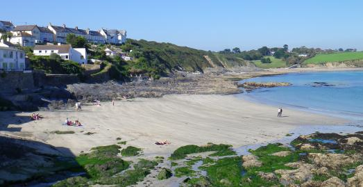 Portscatho Beach, The Roseland, Cornwall